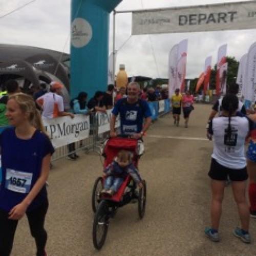 D'Huesen um city Jogging 2016
